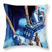 Weapons Of Choice Throw Pillow by Hanne Lore Koehler