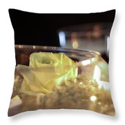 Wedding Bliss Throw Pillow by Terry Weaver