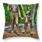 Welcome To Mayberry Throw Pillow by Dan Stone