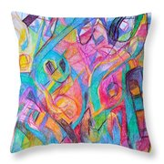 Wellspring Of Truth 1 Throw Pillow by David Baruch Wolk