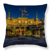 West Entry 2 Throw Pillow by Marvin Spates