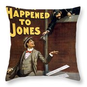 What Happened To Jones Throw Pillow by Aged Pixel