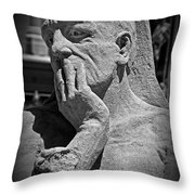 What Have I Done Throw Pillow by Tom Gari Gallery-Three-Photography