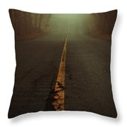 What Lies Ahead Throw Pillow by Karol  Livote