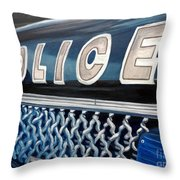 Whatcha Gonna Do When They Come For You? Throw Pillow by Julie Brugh Riffey