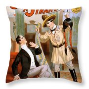 When I Get Through With You Throw Pillow by Terry Reynoldson