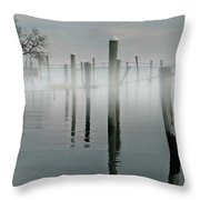When I Look In Your Eyes Throw Pillow by Diana Angstadt