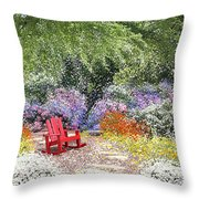 When May Comes Throw Pillow by Kume Bryant