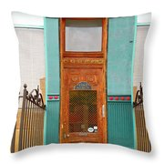When One Door Closes Throw Pillow by Christine Till