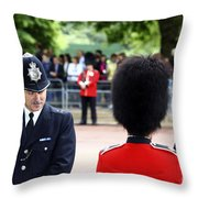 Where Can I Get A Uniform Like That Throw Pillow by James Brunker