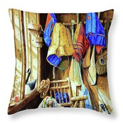 Where The Heart Is Throw Pillow by Hanne Lore Koehler