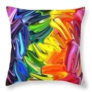 Whirlpool Throw Pillow by Chris Butler