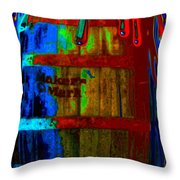 Whiskey A Go Go Throw Pillow by Alec Drake