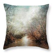 Whisper Of Winter Throw Pillow by Jai Johnson