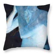 White Lights I Throw Pillow by Graham Dean
