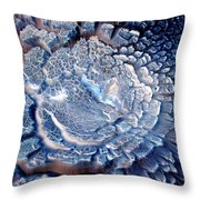 Wild Blue Yonder Throw Pillow by Joyce Dickens