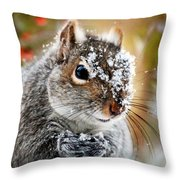 Wild Expedition Throw Pillow by Christina Rollo