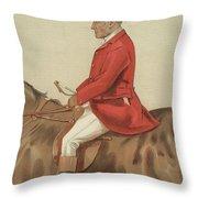 William Ward Tailby Throw Pillow by Sir Samuel Luke Fildes