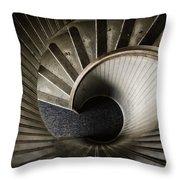 Winding Down Throw Pillow by Joan Carroll