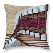 Winding Staircase Throw Pillow by Kathleen Struckle
