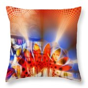Window of Illusions Throw Pillow by Ian Mitchell