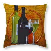 Wine Country Throw Pillow by Frozen in Time Fine Art Photography