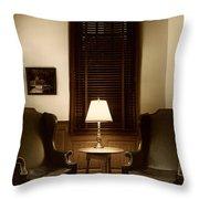 Wingbacks Throw Pillow by Margie Hurwich