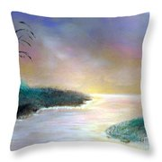 Winter Dawn 1 Throw Pillow by Alys Caviness-Gober