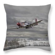 Winter Freedom Throw Pillow by Pat Speirs