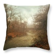Winter Mist Throw Pillow by Jessica Jenney