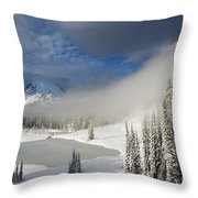 Winter Wonderland Throw Pillow by Mike  Dawson