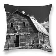 Winterberry Farm Throw Pillow by Guy Whiteley