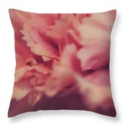 With A Fluttering Heart Throw Pillow by Laurie Search