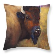 With Age Comes Beauty Throw Pillow by Frances Marino