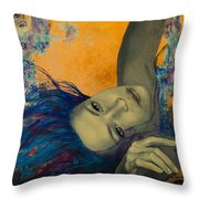 Within Temptation Throw Pillow by Dorina  Costras