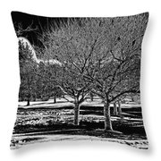 Without You Throw Pillow by Madeline Ellis