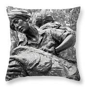 Women In Vietnam Throw Pillow by Cora Wandel