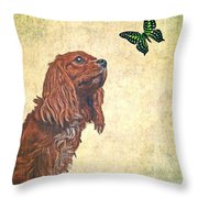 Wonders Of Nature Throw Pillow by Edward Fielding