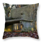 Woodland Throne Throw Pillow by Andrew Pacheco