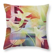 World Peace 2 Throw Pillow by Deborah Ronglien