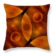 Worlds Collide 13 Throw Pillow by Mike McGlothlen