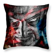 Wrath Throw Pillow by Camille Lopez
