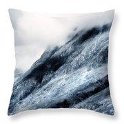 Wuthering Heights. Glencoe. Scotland Throw Pillow by Jenny Rainbow
