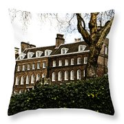 Yeoman Warders Quarters Throw Pillow by Christi Kraft