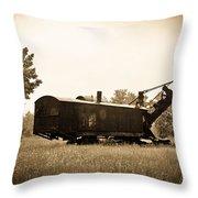 Yesteryear Throw Pillow by Rhonda Barrett