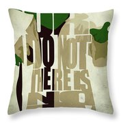 Yoda - Star Wars Throw Pillow by Ayse Deniz