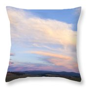 You Can Almost Hear Them Singing Throw Pillow by Theresa Tahara
