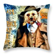 You Made A Difference Throw Pillow by Kathy Tarochione