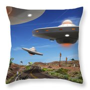 You Never Know . . . 5 Throw Pillow by Mike McGlothlen