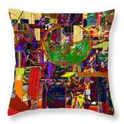 You Saw No Picture 11 Throw Pillow by David Baruch Wolk